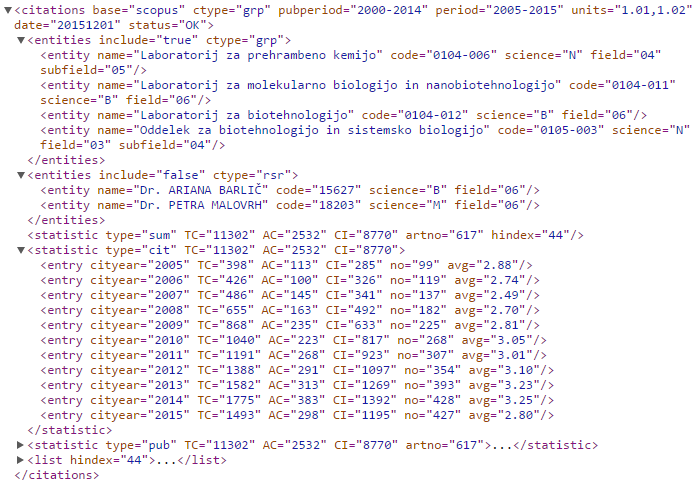 example of XML format